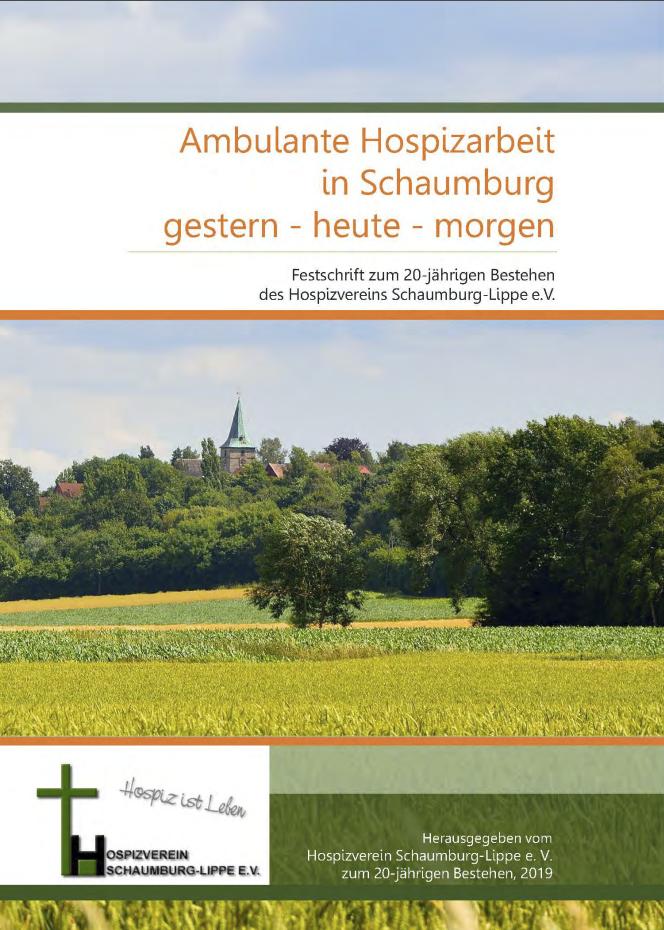 Festschrift zum 20 Jähringen Bestehen des Hospizverein Schaumburg Lippe bei Hannover - jetzt kostenlos downloaden